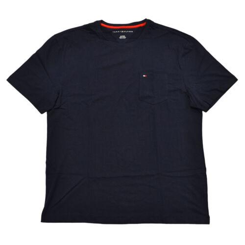 Tommy Hilfiger Men/'s Crew Neck Flag Logo Cotton Short Sleeve Pocket Tee T-Shirt