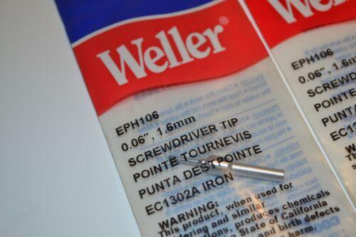 3 NEW WELLER USA Model EPH106 Screwdriver SOLDERING IRON TIPS Retail $41.10
