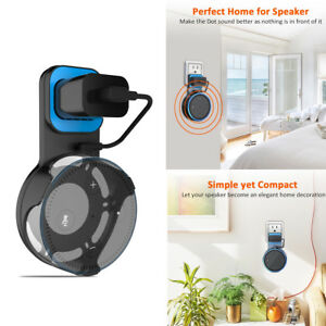 Outlet-Wall-Mount-Hanger-Holder-Stand-Bracket-for-Amazon-Echo-Dot-2nd-Generation