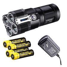 Nitecore TM26 3800 lumen Flashlight/Searchlight Tiny Monster with 4 X 18650 batt