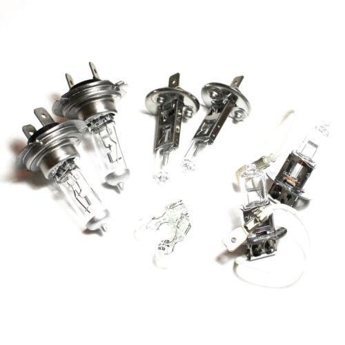 VW Polo 9N 55w Clear Xenon HID High//Low//Fog//Side Headlight Bulbs Set