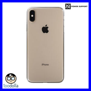 sale retailer d16f1 4545d Details about POWER SUPPORT Air Jacket Ultra thin protection case for  iPhone XS Max, Clear