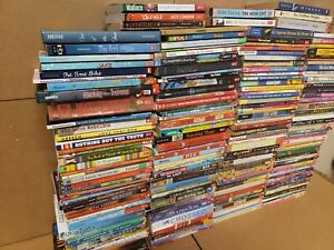 Lot-of-20-Chapter-ALL-SCHOLASTIC-Children-Young-YOUTH-RANDOM-UNSORTED-BOOKS-MIX