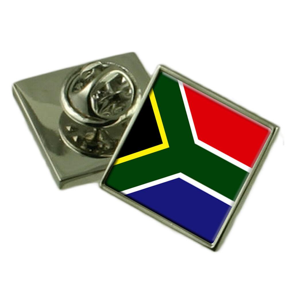 Sud Sud Sud Africa Spilla per Bavero Inciso Personalizzato Scatola 84f852