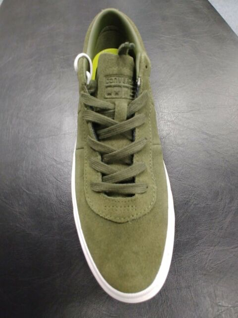 526131f71cb935 Men s Converse One Star Herbal Green Pro Skate Shoe Size 10