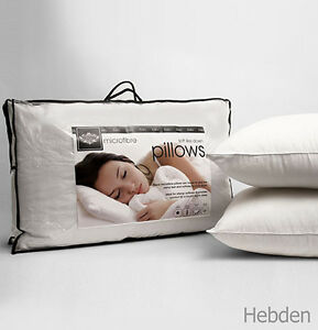 Microfibre Pillows Luxury Hotel Quality Soft As Down Bed