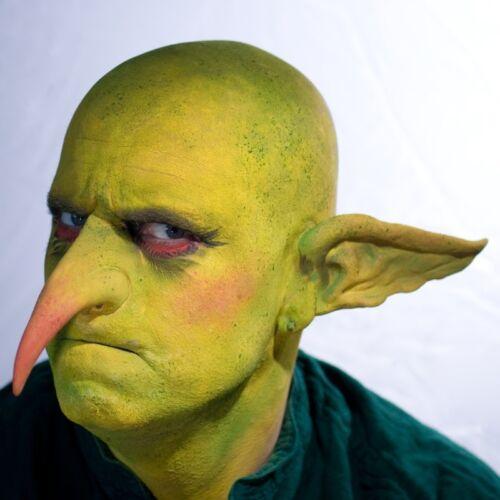 Green Man Face Paint