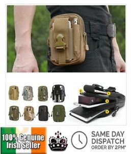 Mens-Belt-Waist-Bag-Bum-Pack-Phone-Pouch-Backpack-Tactical-Molle-Army-Camping