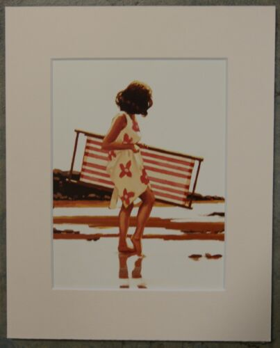 """by Jack Vettriano Mounted Art Print 10/"""" x 8/"""" Sweet Bird Of Youth Study"""