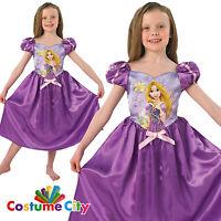Childs Girls Official Disney Princess Storytime Rapunzel Fancy Dress Costume