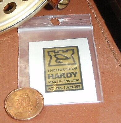 HARDY ROD DECAL RARE HARDY FLY /& CASTLE ADHESIVE