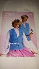 Vintage/Retro Knitting Pattern Studley  Waistcoats 1217