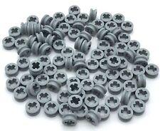 LEGO Lot of 2 Light Bluish Gray 9x9 Circular Saw Blade Pieces