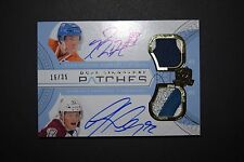 2011-12 The Cup Dual Sig Patches Nugent-Hopkins Landeskog Rookie RC 16/35