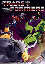 Transformers - Season 2: Vol. 1 (DVD, 2014, 4-Disc Set)