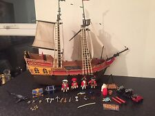 Gran Playmobil Barco Pirata con Figuras y Accesorios