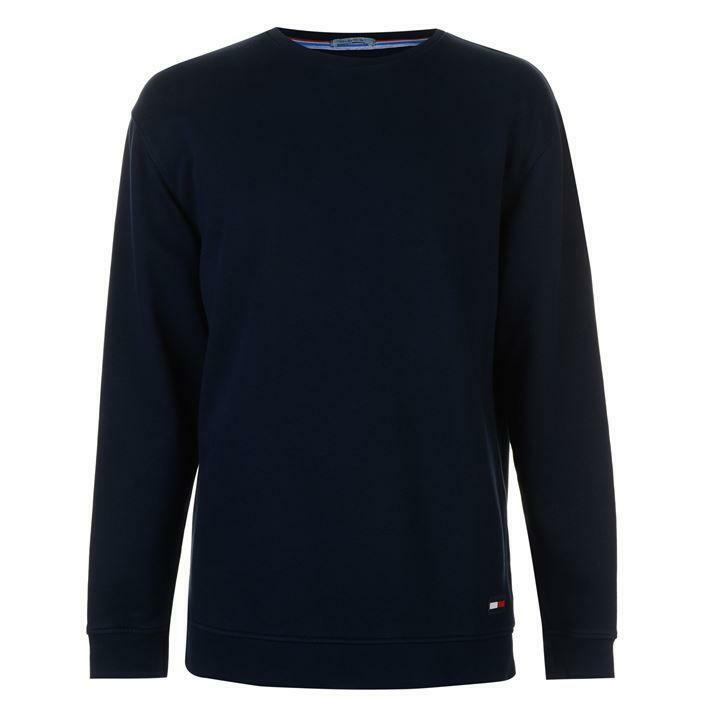Herren Tommy Jeans Contemporary Crew Sweatshirt - Relaxed Fit - Navy Blau