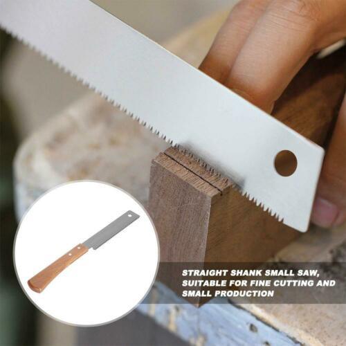 12in Mini Hand Saw Wooden Handle Household Woodworking Flush Cutting Trim Tool