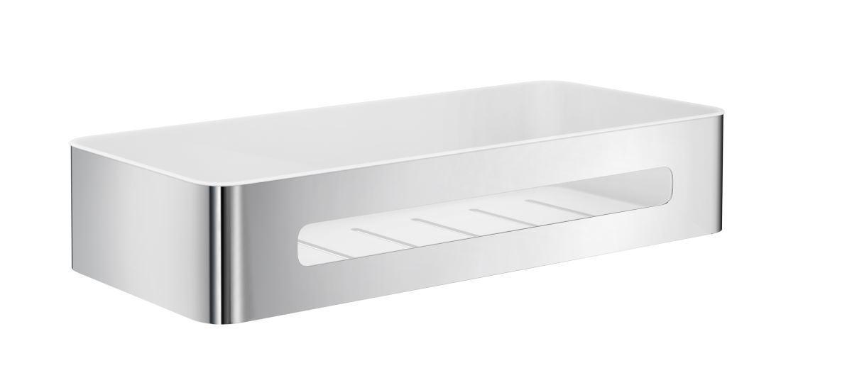 Smedbo Sideline Duschkorb mit herausnehmbaren Kunststoff Einsatz DK4001 | Gemäßigten Kosten