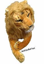 "Realistic Stuffed Plush Large Lion Soft Toy 130cm 51"" Lifelike Features"