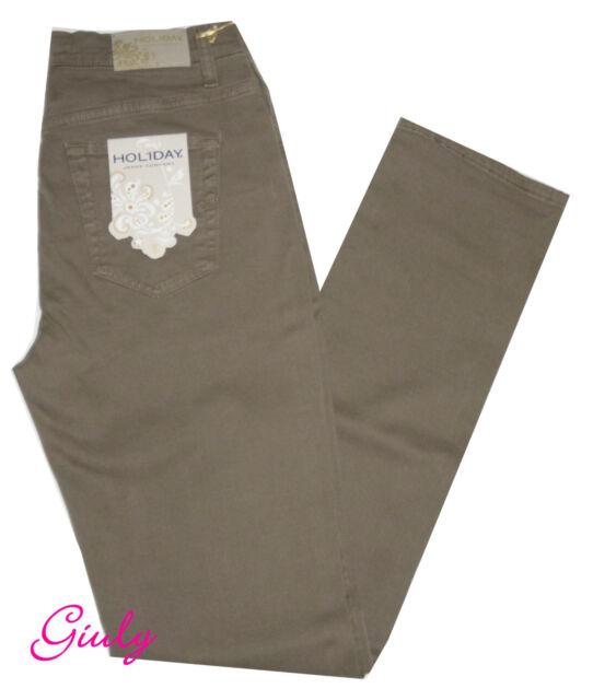Pantalone Holiday 56 Stretch Vita Pesante Donna 42 Cotone Alta kPXNZ8n0wO