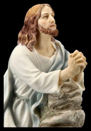 sculpture H 18,5 cm Dekofigur Jésus Personnage-Prière dans Getsemanifils de Dieu