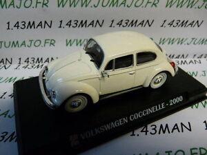 AP10N-Voiture-1-43-IXO-AUTO-PLUS-VOLKSWAGEN-Coccinelle-beetle-2000