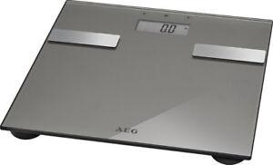 AEG-Digitalwaage-Koerperfett-Waage-Koerperfettwaage-digitale-Digital-Glaswaage-OVP