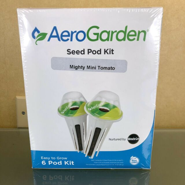 NEW AeroGarden Mighty Mini Cherry Tomato Seed 6 Pod Kit