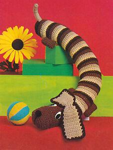 Crochet Dog Door Stop