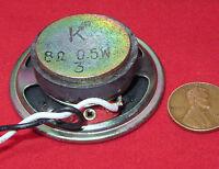 K Arrow 2 Speaker 8ohm .5w, Small 50 X 16mm Ceramic Magnet Watt Round W Leads