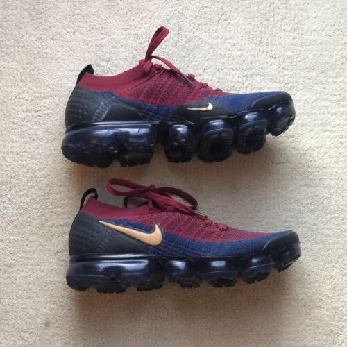 Size 9.5 - Nike Air VaporMax 2 Team Red Obsidian