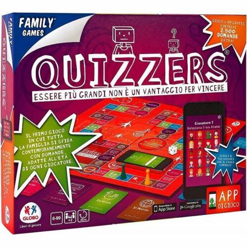 Gioco da Tavolo Quizzers Gioco di Societa/' Giocare in Famiglia o Con Amici