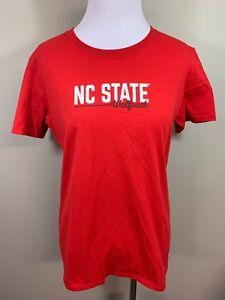 NWT-NC-State-Wolf-Pack-Red-Short-Sleeve-Shirt-Medium-M