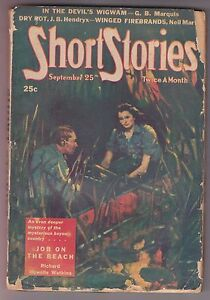 Short-Stories-Sep-25-1944-Pulp-Bedford-Jones-Shaftel-Hendryx-Cox-Pierce-Martin