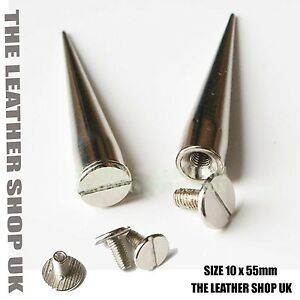 New-Real-High-Quality-Large-Nickle-Cone-Loose-Metal-Studs-For-Leather-Craft