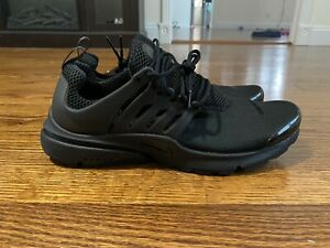 Nike-Air-Presto-Triple-Black-Running-Shoes-Mens-Sz-M-9-10-NEw-No-Box