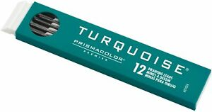 Prismacolor Turquoise Drawing Leads, 2mm, 12-Count Tray, Choose Your Hardness