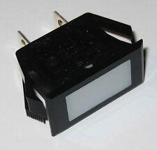 Solico Series 25 Amber Rectangular Panel Mount Indicator Light 125v Neon