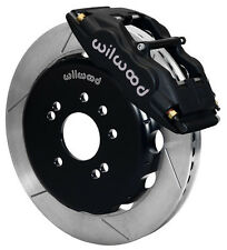 "WILWOOD DISC BRAKE KIT,FRONT,FITS 89-98 NISSAN 240SX,13"" ROTORS,BLACK CALIPERS"