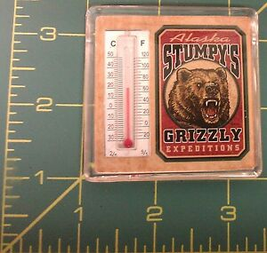 Alaska-Magnet-Stumpys-Alaska-Souvenir-thermometer-Magnet-Grizzly-Expeditions