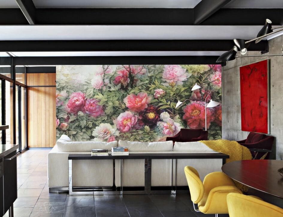 3D molti fiori 34 Parete Murale Foto Carta da parati immagine sfondo muro stampa