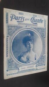 Rivista-Settimanale-per-Lettera-Parigi-Che-Canta-N-168-Avril-1906-ABE