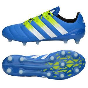 33e3d0cdbb22d ADIDAS ACE 16.1 FG   AG Leather Soccer Cleats Boots AF5098 Shock ...