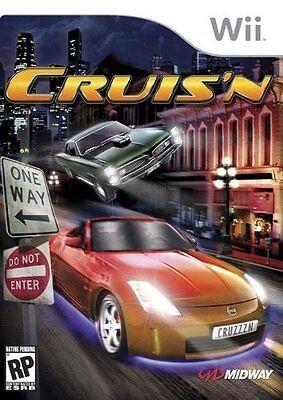 Nintendo Wii Cruisn (Wii) VideoGames