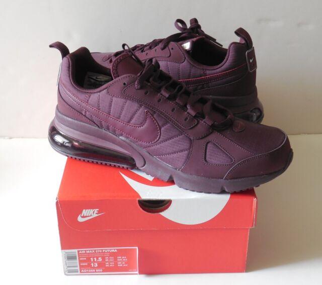 Nike Air Max 270 Futura Mens Ao1569 600 Burgundy Crush Running Shoes Size 11.5