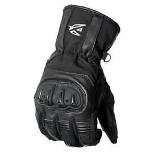 New AGVsport Ladies Esprit Leather Motorcycle Gloves Hard Knuckle Protection