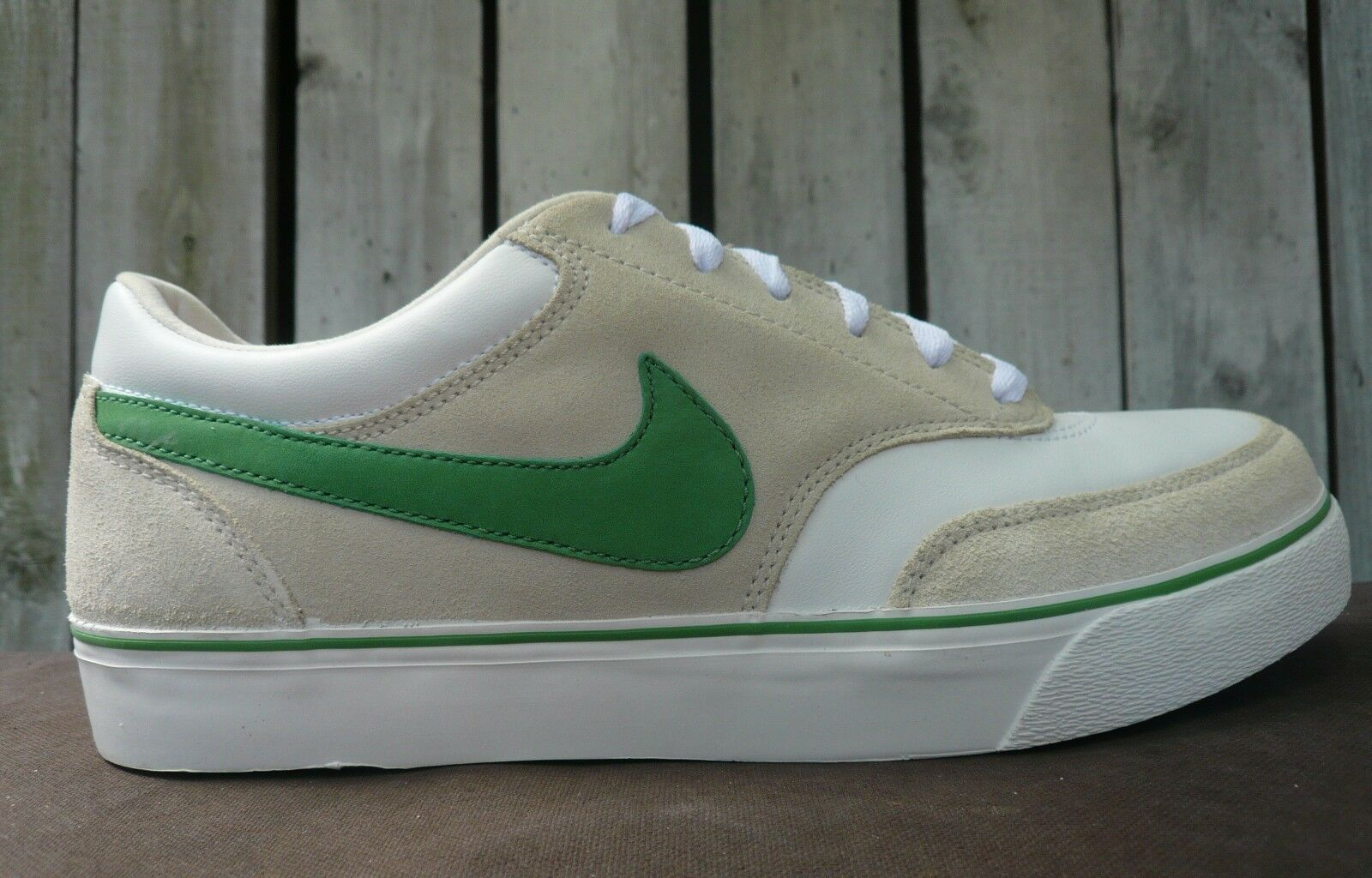 NEW 2007 NIKE ZOOM AIR HARBOUR SB blanc APPLE GREEN PINK CREAM 316049-131 dunk