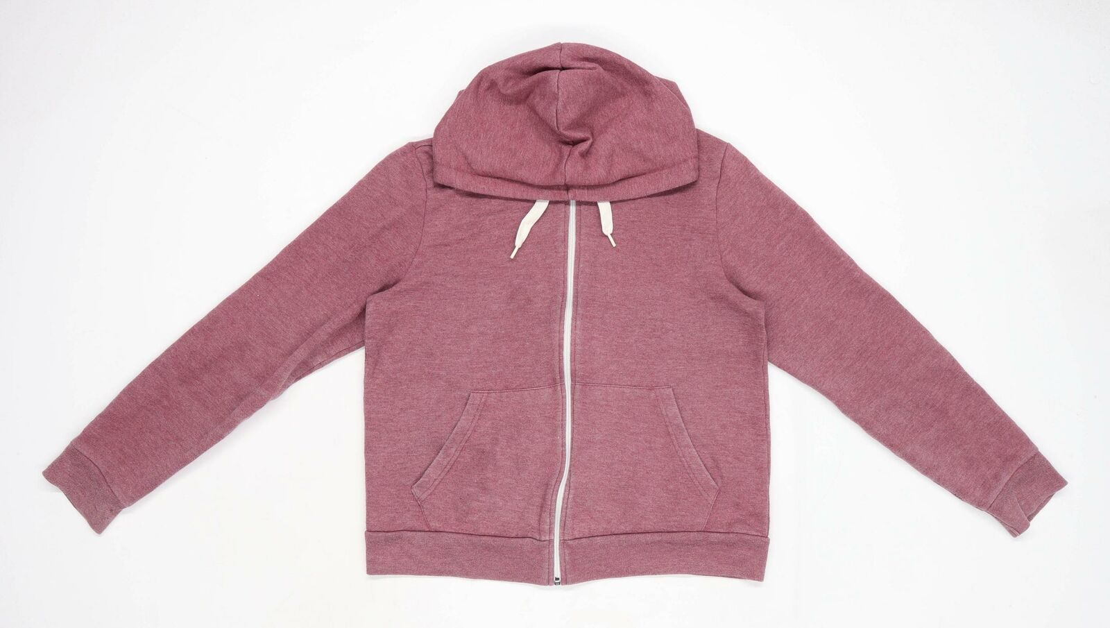 Topshop Womens Brown Jersey Pullover Hoodie Size 12
