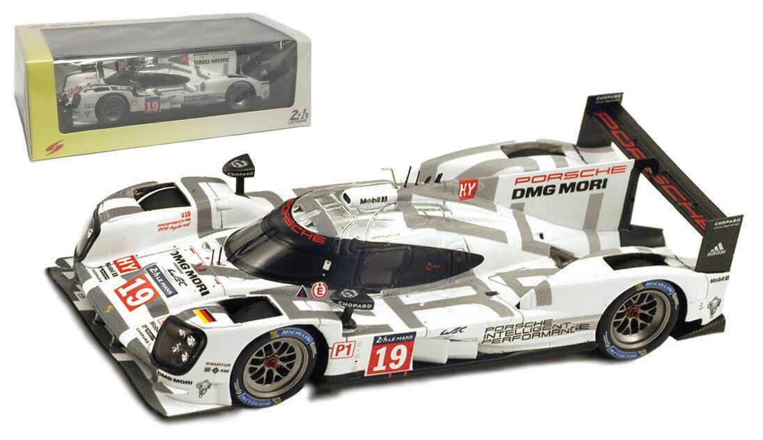 Spark 43LM15 Porsche 919 Hybrid LMP1 HY Winner Le Mans 2015 - 1 43 Scale